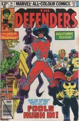 Defenders (1972-1986) #74 Variant C: UK Edition