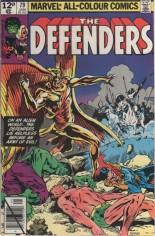 Defenders (1972-1986) #79 Variant C: UK Edition