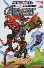 All-New, All-Different Avengers (FCBD 2015) #One-Shot Variant A: Free Comic Book Day 2015