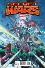Secret Wars (2015-2016) #1 Variant C: Promo Cover
