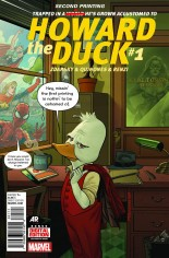 Howard the Duck (2015) #1 Variant J: 2nd Printing