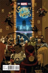 Secret Wars (2015-2016) #1 Variant D: Party Cover