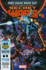 Secret Wars (2015-2016) #0 Variant B: Free Comic Book Day 2015; Midtown Comics Exclusive