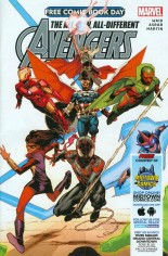 All-New, All-Different Avengers (FCBD 2015) #One-Shot Variant B: Free Comic Book Day 2015; Midtown Comics Exclusive