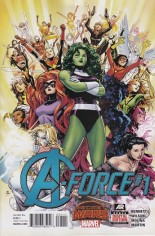 A-Force (2015) #1 Variant A
