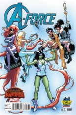 A-Force (2015) #1 Variant H: Midtown Comics Exclusive