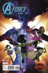 A-Force (2015) #1 Variant C: Incentive Cover