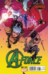 A-Force (2015) #1 Variant G: Incentive Cover