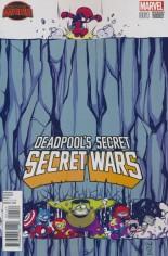 Deadpool's Secret Secret Wars (2015) #1 Variant B: Baby Cover
