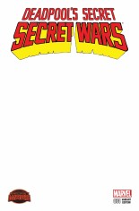 Deadpool's Secret Secret Wars (2015) #1 Variant E: Blank Cover