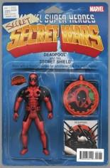 Deadpool's Secret Secret Wars (2015) #1 Variant C: Action Figure Cover