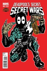 Deadpool's Secret Secret Wars (2015) #1 Variant F: Run The Jewels Variant
