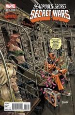 Deadpool's Secret Secret Wars (2015) #1 Variant D: Incentive Cover