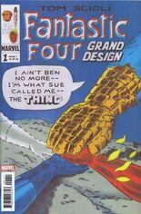 Fantastic Four: Grand Design #1 Variant A