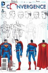 Convergence (2015) #8 Variant D: Incentive Superman Sketch Cover