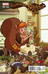 Unbeatable Squirrel Girl (2015) #3 Variant C: Women of Marvel Cover