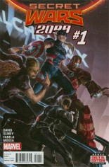 Secret Wars 2099 (2015) #1 Variant A