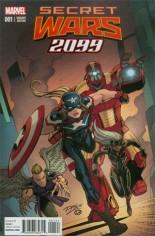 Secret Wars 2099 (2015) #1 Variant B: Incentive Cover