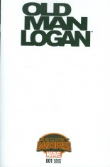 Old Man Logan (2015) #1 Variant E: Blank Cover