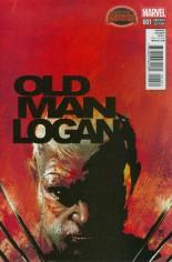 Old Man Logan (2015) #1 Variant B: Incentive Variant Cover