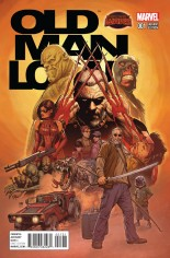 Old Man Logan (2015) #1 Variant C: Incentive Variant Cover