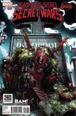 Deadpool's Secret Secret Wars (2015) #1 Variant G: BAM!/2nd & Charles/Books A Million Exclusive