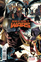 Secret Wars (2015-2016) #3 Variant B: Connecting Cover