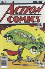 Action Comics (1938-2011, 2016-Present) #1 Variant F: 1988 Reprint; 50 Cent Cover Price; Newsstand Edition