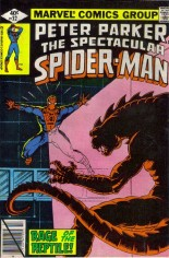 Spectacular Spider-Man (1976-1998) #32 Variant B: Direct Edition