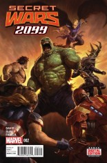 Secret Wars 2099 (2015) #2 Variant A