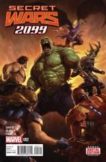 Secret Wars 2099 (2015) #2 Variant A