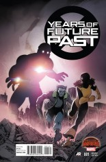 Years of Future Past (2015) #1 Variant D: Incentive Variant Cover