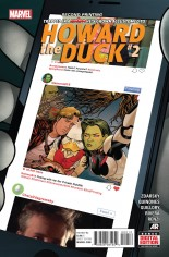 Howard the Duck (2015) #2 Variant E: 2nd Printing