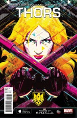 Thors (2015-2016) #1 Variant E: Agents of S.H.I.E.L.D. Cover