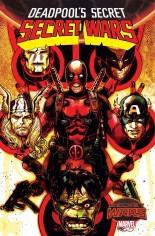 Deadpool's Secret Secret Wars (2015) #1 Variant I: DF Blood Red Signed Edition