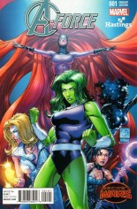 A-Force (2015) #1 Variant I: Hastings Exclusive