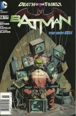 Batman (2011-2016) #14 Variant A: Newsstand Edition