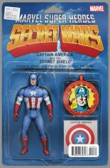 Secret Wars (2015-2016) #4 Variant C: Action Figure Cover