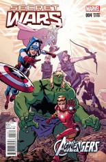 Secret Wars (2015-2016) #4 Variant G: Agwengers Cover