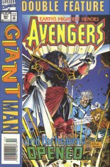 Avengers (1963-1996) #381 Variant A: Newsstand Edition; See ''Marvel Double Feature... Avengers/Giant-Man (1994-1995)'' for Flipbook Edition