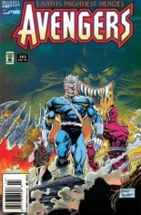 Avengers (1963-1996) #382 Variant A: Newsstand Edition; See ''Marvel Double Feature... Avengers/Giant-Man (1994-1995)'' for Flipbook Edition