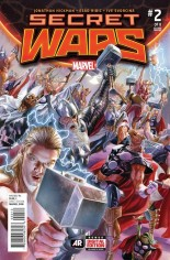Secret Wars (2015-2016) #2 Variant H: 2nd Printing