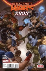 Secret Wars 2099 (2015) #3 Variant A