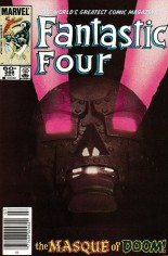 Fantastic Four (1961-1996) #268 Variant A: Newsstand Edition