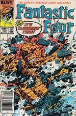 Fantastic Four (1961-1996) #274 Variant A: Newsstand Edition