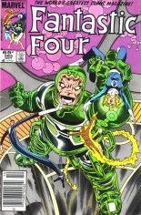 Fantastic Four (1961-1996) #283 Variant A: Newsstand Edition