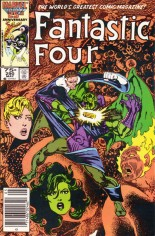 Fantastic Four (1961-1996) #290 Variant A: Newsstand Edition