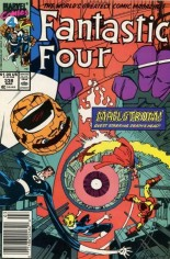 Fantastic Four (1961-1996) #338 Variant A: Newsstand Edition
