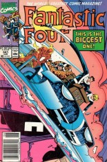 Fantastic Four (1961-1996) #341 Variant A: Newsstand Edition