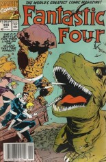 Fantastic Four (1961-1996) #346 Variant A: Newsstand Edition